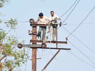 Peak power demand in Delhi came down by 217 MW from 5,470 MW—the highest this season—on Wednesday.