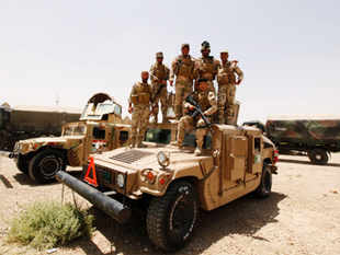 Training the Iraqi army and other security forces was a seminal mission for United States forces before the last US troops left Iraq in 2011.