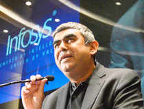This move, according to some experts, bears the stamp of CEO-designate, Vishal Sikka, as he spent close to a decade at German software firm, SAP.