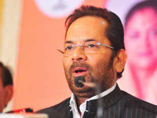 """The government's initiative for according priority to Hindi and regional languages is a welcome step,"" BJP Vice President Mukhtar Abbas Naqvi said."
