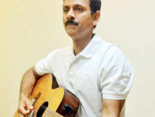 For Vaidyanathan, guitar is one of the most soothing musical instruments.