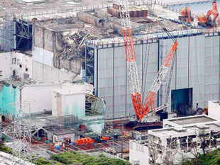 The system has three lines via which it cleans water used to cool reactors at the Fukushima Daiichi plant, where Japan's devastating 2011 quake-tsunami disaster caused a nuclear meltdown.