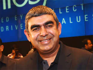 Sikka has met with clients and venture capitalists in California though ET could not independent verify if the talks centered on this subject.