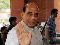 "Union Home Minister Rajnath Singh today said discussions on appointment of his successor in the organisation were ""still on""."
