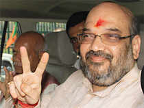 At least four people in the party and the RSS said Shah's name has been cleared and he could be declared party president very soon.