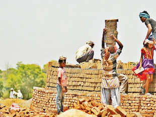 MGNREGA promises 100 days of work each year. The Act stipulates that wage payments have to be made within 15 days to the beneficiary.