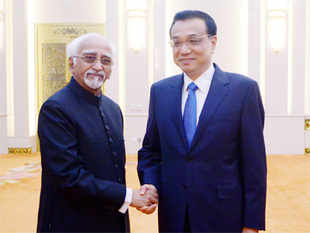 Ansari, who is on a five-day visit to China, said India, China and Myanmar are bound by age-old linkages and geography.