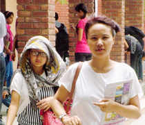 With many colleges closing admissions, students who are desperate to get into Delhi University are ready to study any course in any college.