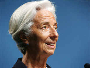 The IMF's update of its global economic outlook, expected later this month, will be slightly different from the forecasts published in April, Lagarde said.