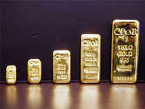 Indian gold futures jumped 2 per cent on Thursday, widening the premium over global prices which had narrowed on the expectation of a duty cut.