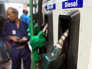 According to oil ministry data, under-recovery stood at Rs 3.40 per litre on sale of diesel and at Rs 449.17 on sale of LPG cylinder.