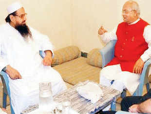 Vaidik met Saeed as well as Pakistan Prime Minister Nawaz Sharif during what he described as a personal visit to Pakistan recently.