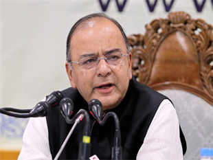 Finance minister Arun Jaitley told his party colleagues on Tuesday that if inflation stabilizes, the government could suggest to the Reserve Bank of India to consider bringing down interest rates.