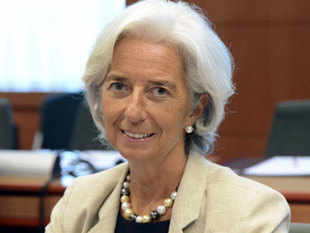The former French economy minister also urged caution over asset prices, which she said could be too high in relation to fundamentals.
