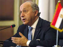 Fabius issued the call at a Cairo press conference after talks with Egyptian President Abdel Fattah al-Sisi, who is rallying international support for Cairo's ceasefire proposal.