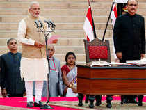 The oath-taking ceremony was attended by 4017 guests the cost for tentage, stage, furniture and other allied items was Rs 17.6 lakhs.