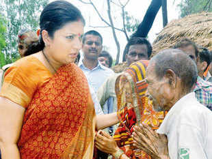What Irani has started doing in the constituency is commendable because the BJP has never taken Amethi so seriously, said some residents.