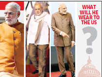 Modi may be planning a big sartorial splash for his trip to the US, which famously denied him a visa but has now opened its door for him.