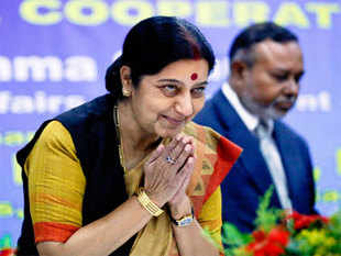 Sushma Swaraj said the House should not be divided but send out a joint message that wherever there is violence, it is condemnable and both Israel and Palestine should accept Egypt's offer of peace talks.