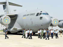The Indian Air Force will induct its sixth C-17 Globemaster heavylift transport aircraft on Monday at the Palam air base