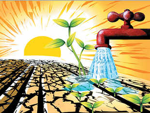 The government must invest heavily in building a modern system of irrigation and reviving old systems of rainwater tanks, ponds and water harvesting.