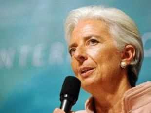 """If elections were called during the year we would certainly seek the endorsement by the political leaders,"" Lagarde said."