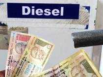 Diesel sales had been declining since last year but demand picked up in  last two months even though fuel's price has risen by Rs 10.70 per litre.