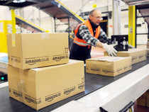 Flipkartand challenger Amazon plan to open more warehouses, hire in larger numbers and acquire companies with newer products or technology as they battle for supremacy in one of the fastest growing markets for online commerce globally. Pic Credit EPA