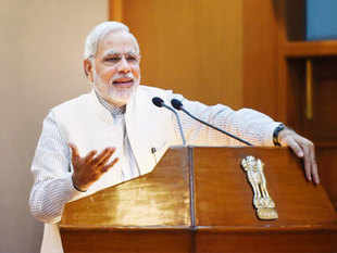 In a bid to save the common man from hassles, Prime Minister Narendra Modi today pushed for shifting to self-certification of documents and pitched for minimum use of affidavits.