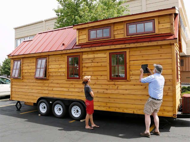 tiny house on display - Largest Tiny House On Wheels