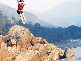 An increasing number of people in corporate India are showing an interest in adventure and extreme sports such as bungee jumping, rock climbing, wild life safaris, mountain biking and white water rafting.