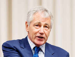 Chuck Hagel said Obama administration must find ways to adjust India's political requirements & handle its relationships, with US.