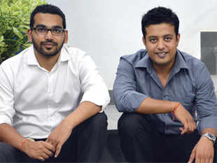 Sidharth Agarwal (left) and Vidur Gupta