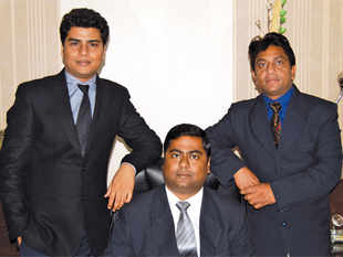 (Left to right) Sudhir Singh, Anup Singh, and Mahender Singh