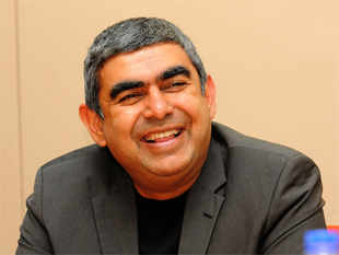 The five planks of Sikka's strategy are boost for seniors, promoting engineers, employee connect, meeting clients and meeting VCs.