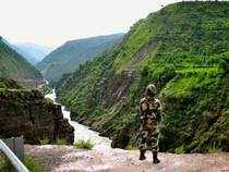 There was no fresh ceasefire violation by Pakistani troops along the Line of Control and International Borderin Jammu and Kashmir.