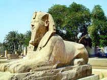 Pharoahs and fantasy in Egypt