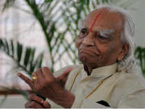 "In a condolence message to his son, Prashant Iyengar, the president said: ""I am deeply saddened to learn about the passing away of B.K.S. Iyengar."""