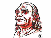 Iyengar was the embodiment of compassion with his all-too-ready laugh and jokes which he made with stinging slaps rapidly delivered to your columnist's wrists!