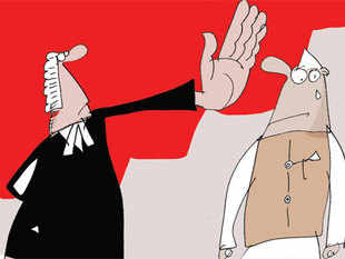 The court agreed with Sibal that the issue needed interpretation, but politely refused to stay any coercive action.