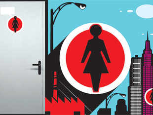 Number of women in workforce is rising, but toilet facilities for them are not keeping pace with the rise in number.