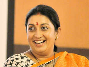 Three months after she lost her election against Congress V-P Rahul Gandhi, Irani is still working on gaining popularity there.