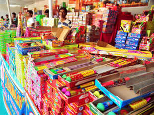 AMSG Ashokan of 'We Two' brand estimates that roughly 500 containers full of Chinese fireworks may be smuggled in for diwali this year