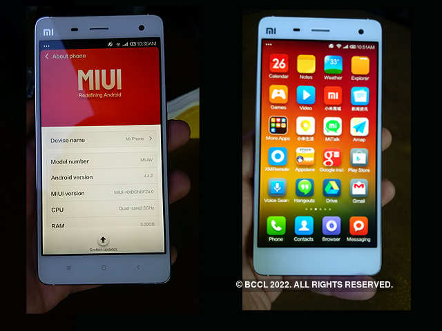 No Removable Battery Xiaomi Mi 4 First Impressions Of