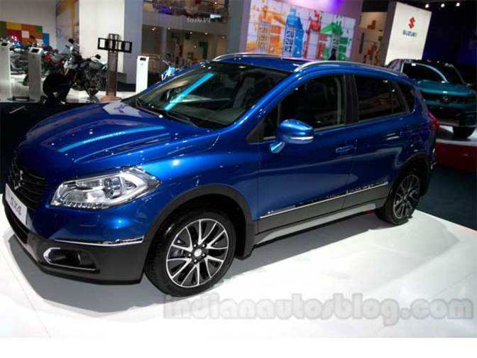 suzuki sx4 s cross set to launch in india by 2015 suzuki. Black Bedroom Furniture Sets. Home Design Ideas