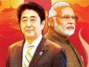In Tokyo, Modi and Abe will sign a landmark defence agreement that will lay the groundwork for deeper military ties.
