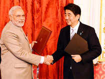 India & Japan also signed an MoU in defence, which provides for enhanced exchanges & exercises, including at multilateral level.