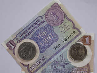 The printing of notes in the denominations of Re 1 and Rs 2 has been discontinued as these denominations have been coinised.
