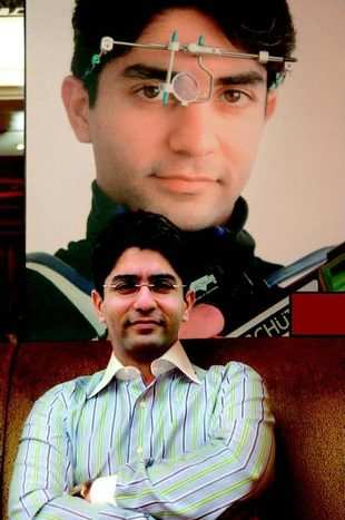 A shot at history abhinav bindra