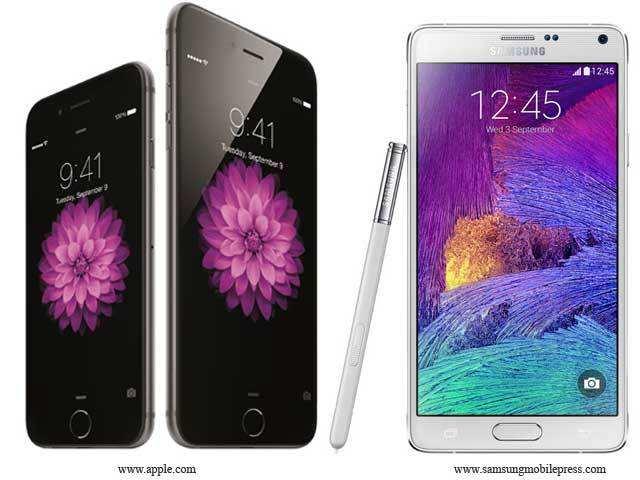 Samsung Galaxy Note 4 Vs Iphone 6 Plus